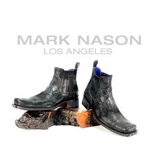 MARK NASON- Rock Lives/Cross ankle boots